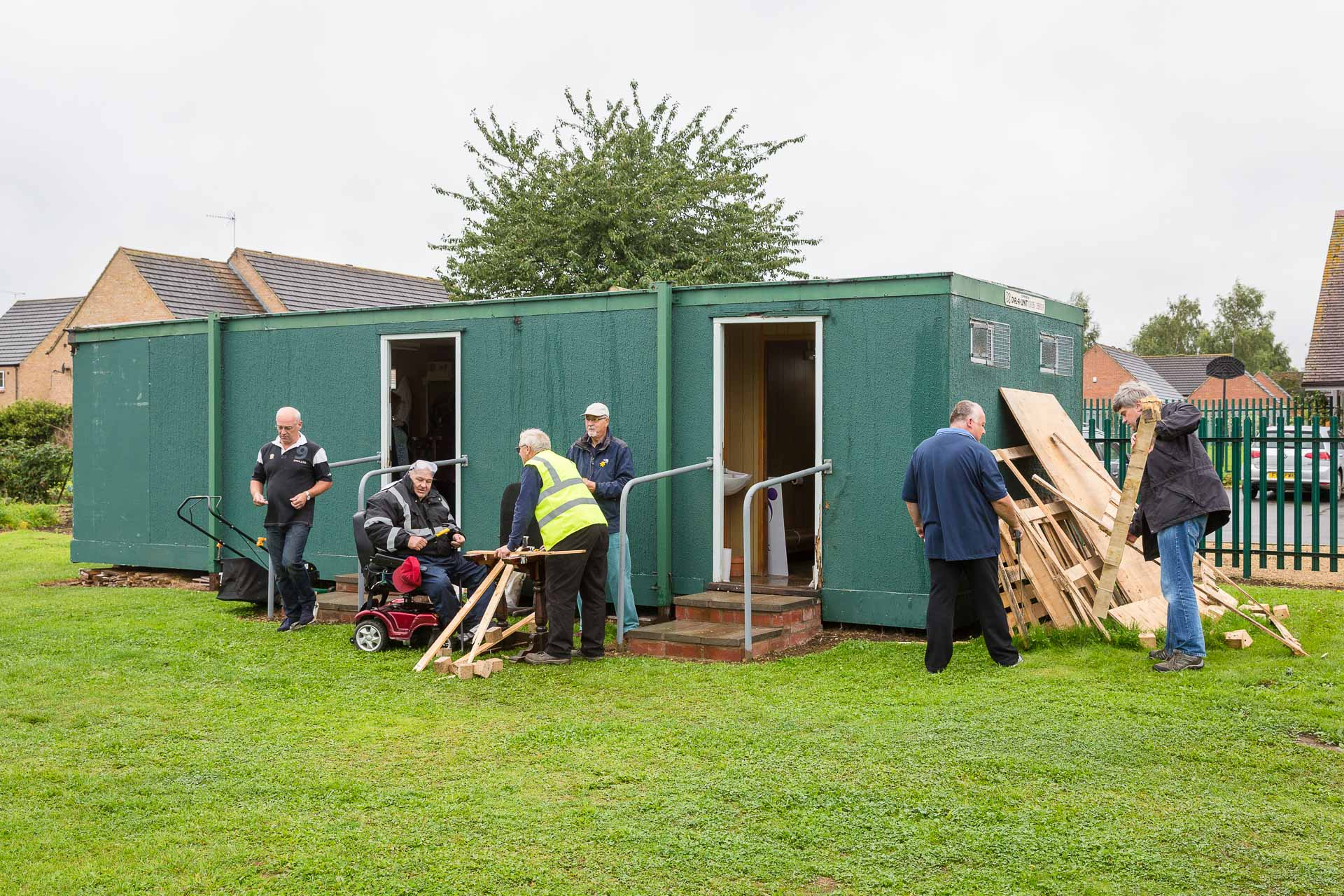 Moreton Men-in-Sheds, Fundraising and Thankyous.