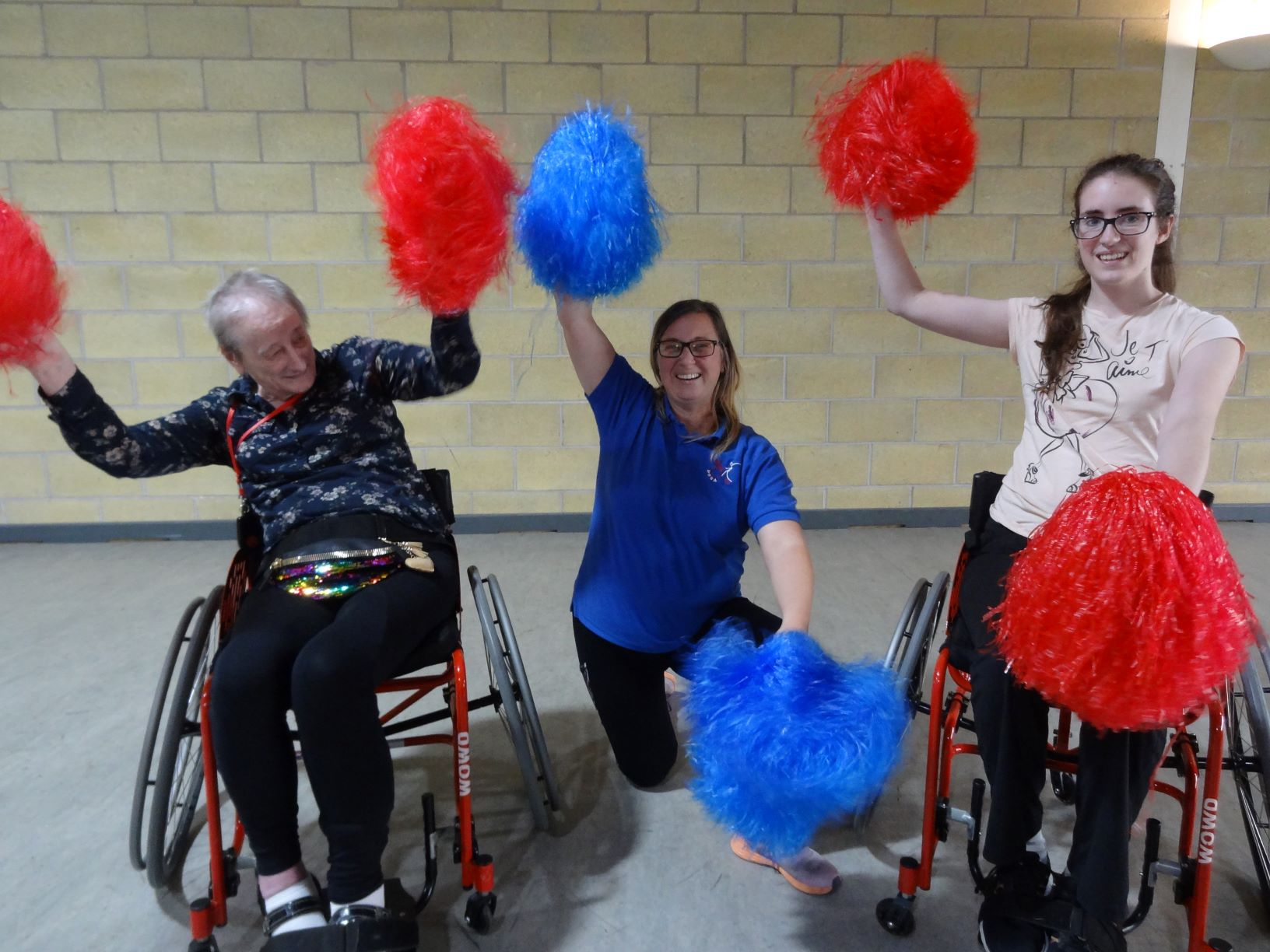 Weston - Out making a difference for Wheelchair Users