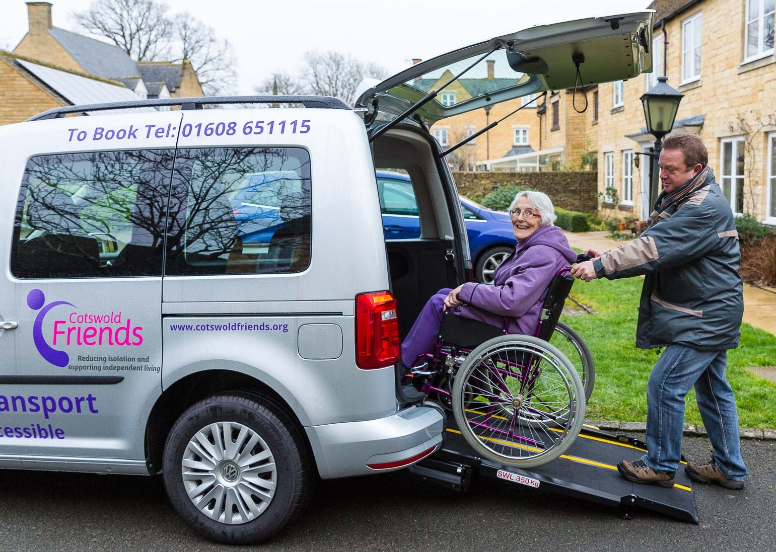 Much-Needed Wheelchair Accessible Vehicle for the North Cotswolds