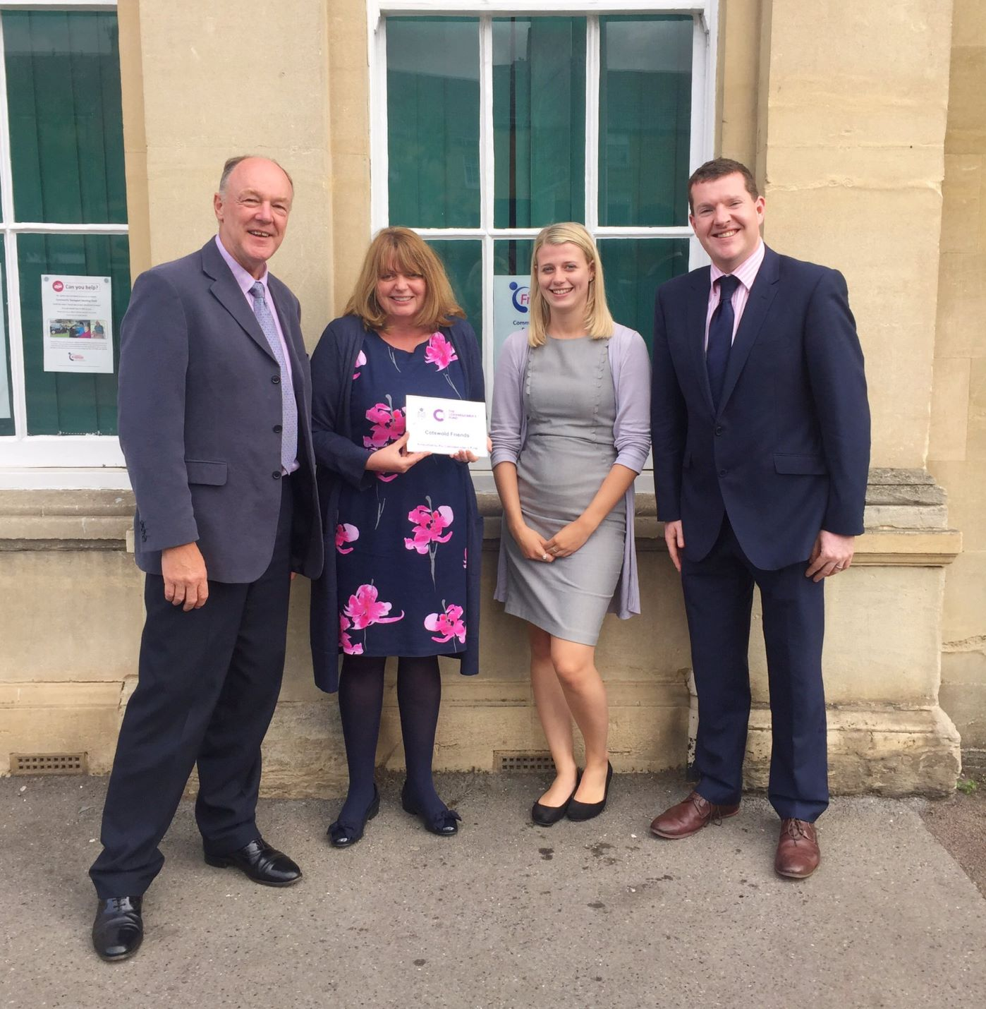 PCC Martin Surl's Ongoing Support for Cotswold Friends