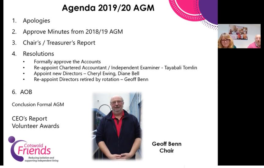 Cotswold Friends 2019/2020 AGM
