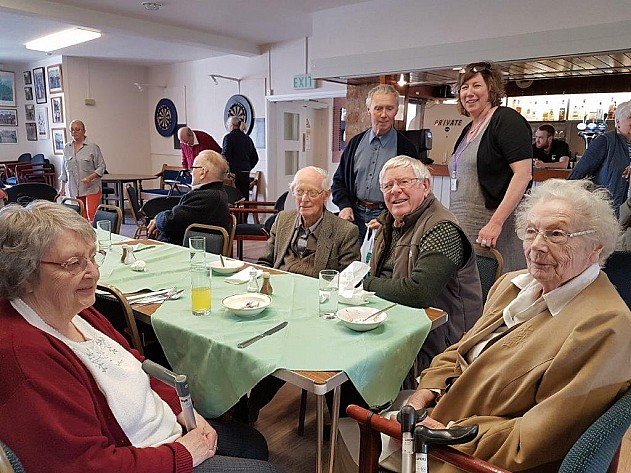 Stow Legion Lunch Club